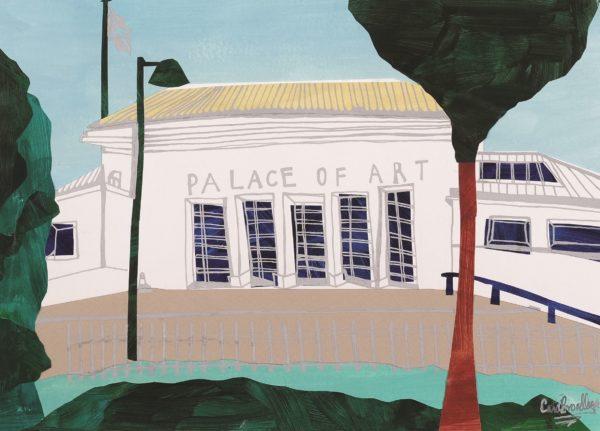 Palace of Art, Cara Broadley BA (Hons) Mers, PhD, mixed media