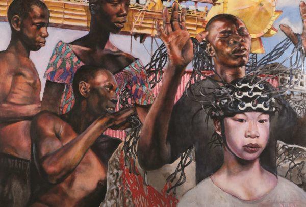 Harvest, Kenneth Marshall, acrylic