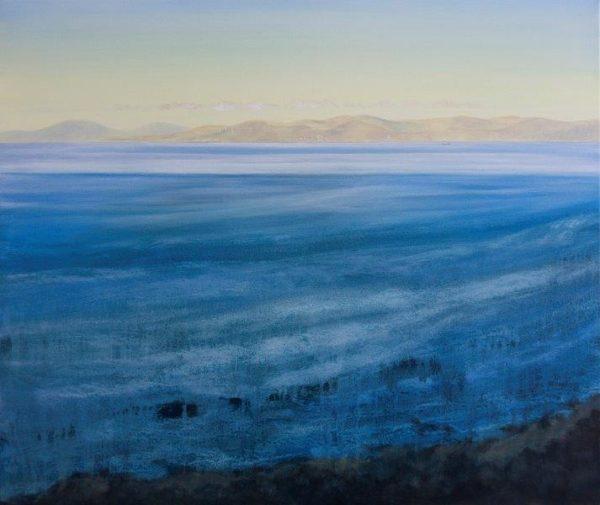 Ayrshire Coast, Matty Lough, Oil on Canvas, 2019, 24x20