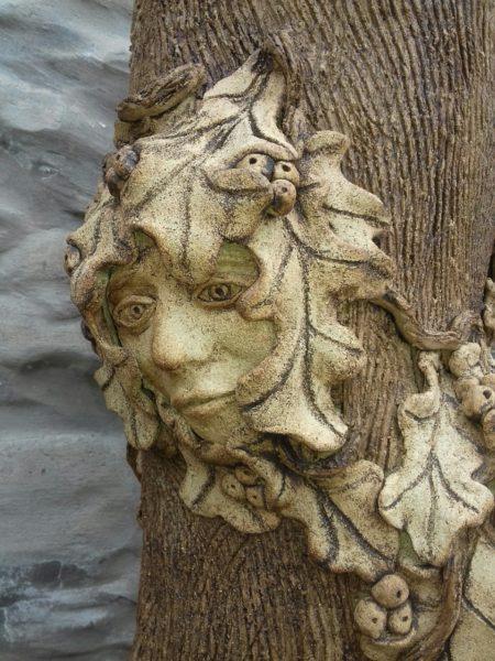 Green Men of the wood 2, Moira Ferguson